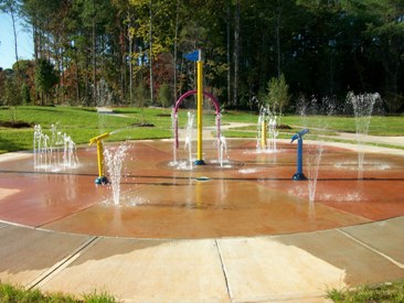 Beattys Ford Park Splash Park