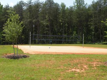 Beattys Ford Park Volleyball Court