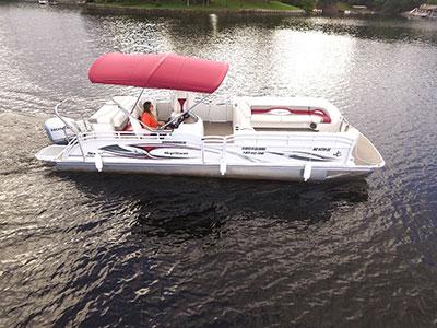 rent boat Lake Norman